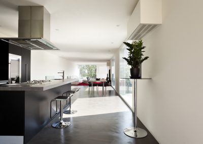 interno di una casa moderna